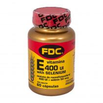 Vitamina E 400ui + Selenium 50mcg FDC