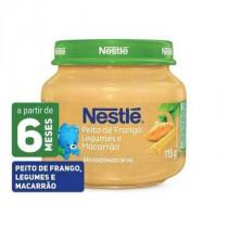 Papinha Nestlé Peito de Frango com Legumes e Macarrão 115g