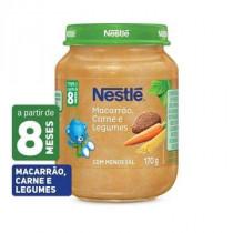 Papinha Nestlé Macarrão, Carne e Legumes 170g