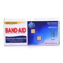 Curativo Band-Aid Pequenos Ferimentos Com 16 Unidades