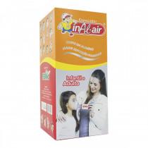 Espaçador Inal-Air Infantil e Adulto com Máscara de Silicone