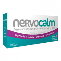 Nervocalm 250mg Com 20 Comprimidos