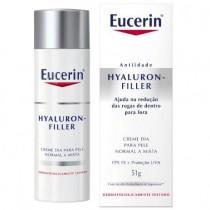 Eucerin Creme Anti-Idade Hyaluron Filler FPS 15 Dia 51g