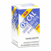 Cálcio Os-cal 500mg 60 comprimidos