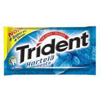 Chiclete Trident hortela com 05 unidades