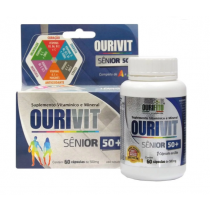 Suplemento Vitamínico Mineral Ourivit Sênior 60 Cápsulas