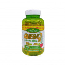 Ômega 3 Fish Oil 1000mg 120 cápsulas