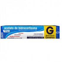 Acetato de Hidrocortisona 10mg/g Creme 15g