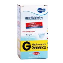 Acetilcisteina Xarope 40mg EMS 120ml