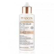 Adcos Filtro Solar Fluid Tonalizante FPS 40 Nude 50ml + Grátis 6ml
