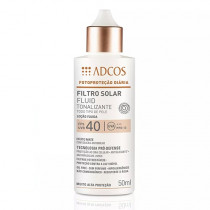 Adcos Filtro Solar Fluid Tonalizante FPS 40 Peach 50ml