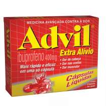 Advil 400mg 20 Cápsulas Líquidas