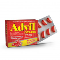 Advil 400mg 8 Cápsulas
