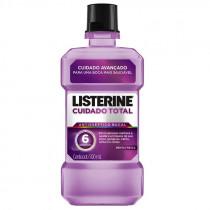 Enxaguante Bucal Listerine Cuidado Total 500ml
