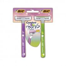 Aparelho Bic Comfort Teens 2 unidades
