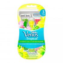 Aparelho de Depilação Feminina Vênus Tropical 3 Unidades