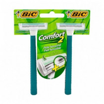 Aparelho Bic Comfort Twin Pele Sensível 2 unidades