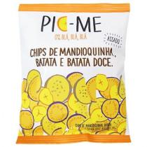 Chips Assados Pic - Me Mandioquinha, Batata e Batata Doce 34g