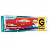 Clotrimazol 10mg Creme Dermatológico 20g