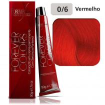 Forever Coloração 0/6 Vermelho 50g