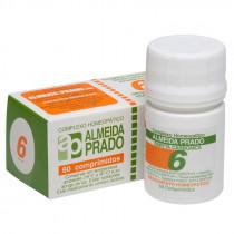 Complexo Baryta Carbonica 6 Almeida Prado 60 comprimidos