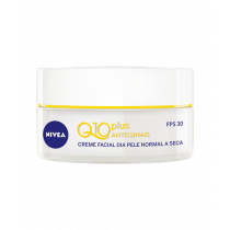 Creme Facial Nivea Q10 FPS 30 Dia Plus Antissinais 52g
