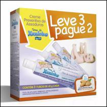 Creme Preventivo de Assaduras Xuxinha 45g Leve 3 Pague 2