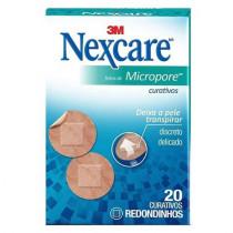 Nexcare Micropore com 20 Curativos