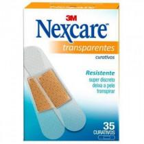 Curativos Nexcare Transparentes 35 Unidades