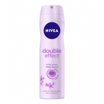 Desodorante Aerosol  Nivea Double Effect 150ml