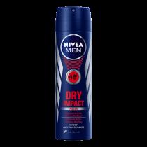 Desodorante Aerosol Nivea Men Dry Impact 150ml