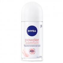 Desodorante Rollon Feminino Nivea Powder Comfort 50ml