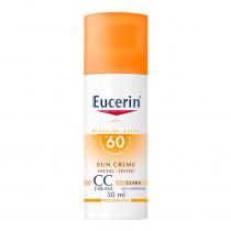 Eucerin Protetor Solar FPS 60 CC Cream Claro 50ml