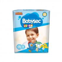 Fralda BabySec Jumbo Ultra Protect XXG - 16 unidades