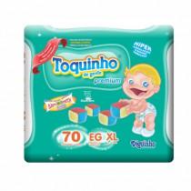 Fralda Toquinho EG 70 Unidades