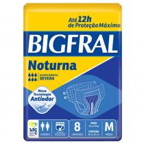 Fralda Noturna Bigfral M 8 Unidades