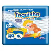 Fralda Toquinho Plus G 80 Unidades