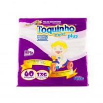 Fralda Toquinho Plus SXG 60 Unidades