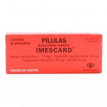 Imescard Pílulas 36 Drágeas
