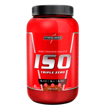 Iso Triple (Whey Protein Isolado) Zero Integralmédica Sabor Chocolate 907g