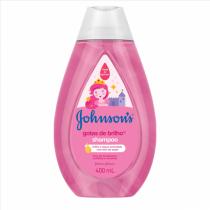 Shampoo Johnson's Baby Gotas de Brilho 400ml