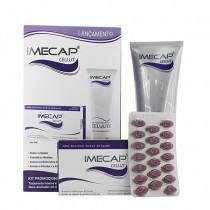 Kit Imecap Gel-Creme Redutor de Celulite + 60 Cápsulas de Cellut