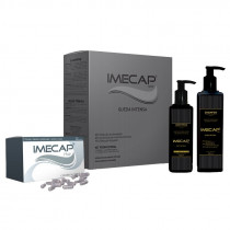 Kit Imecap Hair Queda Intensa (Shampoo 300ml + Loção 100ml + 30 Cápsulas)