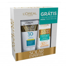 Kit Protetor Solar Toque Seco FPS 30 + Facial FPS 30 Loreal