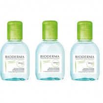 Kit Sébium H2O Solução Micelar Bioderma 100ml  - 3 unid.