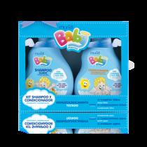 Kit Shampoo e Condicionador Menino Muriel Baby 100ml