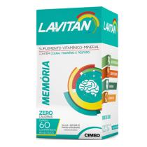 Lavitan Memória 60 Comprimidos