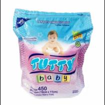 Lenço Umedecido Tutty Baby 450 unidades