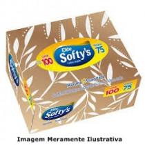 Lenço De Papel Softys Lv 100 Pg 75