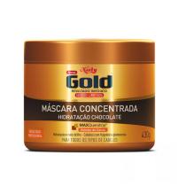 Máscara Concentrada Niely Gold Chocolate 430g